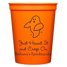 The Friendly Ghost Stadium Cups