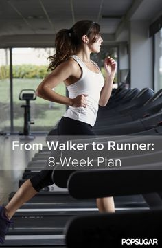 From Walker to Runner: 8-Week Plan! Wow I found a plan to start running.