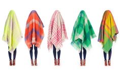 Gorman's new mohair throw blankets are made in Melbourne, Australia. Photo credit: Gorman.