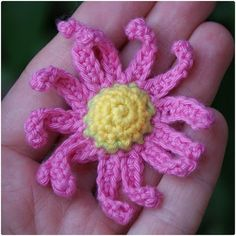 flower ~ free pattern (with translation)