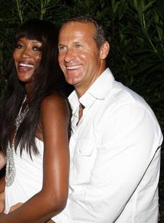 Is Naomi Campbell Engaged? Interracial Celebrity Couples, Interracial Marriage, Interracial Couples, Mixed Couples, Couples In Love, Beautiful Couple, Simply Beautiful, Photo Time, Mixed Race