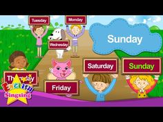 What day is it today? It's Monday Tuesday Wednesday (Day of the week) - English song for Kids - YouTube