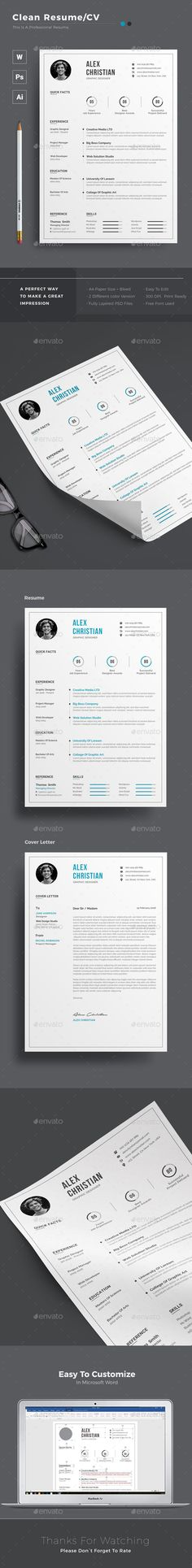#Resume - Resumes Stationery Download here:  https://graphicriver.net/item/resume/20323603?ref=alena994
