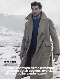 David Gandy modeling Tom Ford