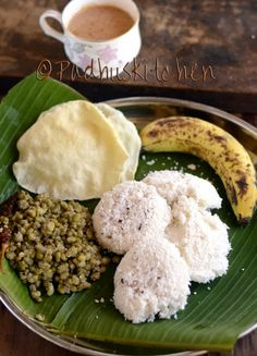 Padhuskitchen has a variety of Kerala traditional recipes with step by step instructions and pictures. Our collection of Kerala cooking recipes includes Kadala Curry, Puttu Recipe and lot more. Puttu Recipe, Appam Recipe, South Indian Breakfast Recipes, Indian Food Recipes, Kerala Recipes, Jackfruit Curry, Vegetarian Chicken, Kerala Food, South Indian Food