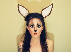 (KatieMaeDickinson) | DIY: http://www.cheapfrillsandthrills.com/2012/10/oh-deer.html