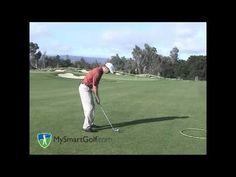Golf instruction - half-wedge shot - YouTube