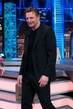 Liam Neeson Photos - Liam Neeson Attends 'El Hormiguero' Tv Show - Zimbio
