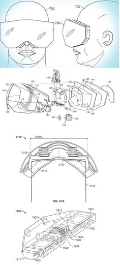 Look out, Oculus! Apple just patented a head-mounted display.