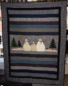 Strip quilt with ONE detailed panel! I might could handle ONE! :-)