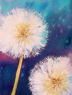 Make a Wish ~ Stunning watercolour by rsharts on DeviantArt.  http://rsharts.deviantart.com/