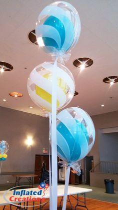 Balloon Bouquet Bubble Swirl