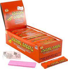 Fortune Bubble Gum. Would buy from the ice cream truck