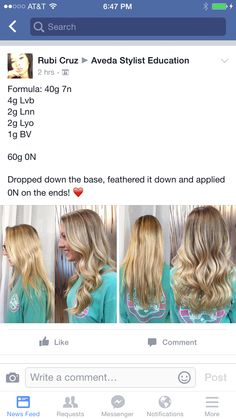 Formula by another stylist Fall Blonde, Beige Blonde, Blonde Hair, Couleur Aveda, Reverse Balayage, Aveda Hair Color, Hair Color Formulas, Hair Color And Cut, Hair Coloring