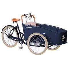 Rower Transportowy Johnny Loco Brighton. Luksus, komfort i piękny wygląd. Rower dla wszystkich, którzy lubią wyróżniać się w każdej sytuacji. http://damelo.pl/rowery-miejskie-transportowe/423-rower-transportowy-johnny-loco-brighton.html