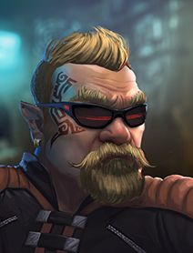 Dwarf Male Shadowrunners Portraits from Shadowrun Returns and Shadowrun Dragonfall. 1, 2 Humans Dwarves Elves Orks Trolls