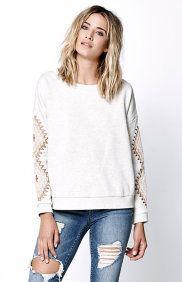 Lori Crew Neck Sweatshirt