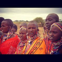 The Maasai, Maasai Mara (Kenya)