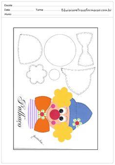 Lembrancinhas para o dia das Crianças com moldes para imprimir.
