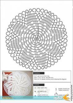 Crochet Doily Rug – Free Pattern - Her Crochet Crochet Doily Rug, Free Crochet Doily Patterns, Crochet Pillow Pattern, Crochet Dollies, Crochet Circles, Crochet Motifs, Crochet Tablecloth, Crochet Diagram, Thread Crochet