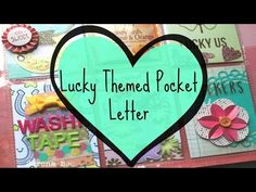 Lucky Themed Pocket Letter (Process Video) - YouTube