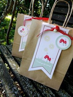 Little Red Riding Hood Woodland Birthday Party Favors
