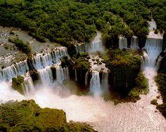 Iguassu (Iguazu, Iguacu) Falls, Brazil