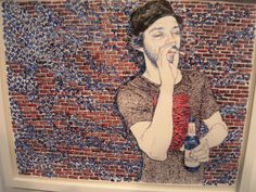 hope gangloff artist | Documenting white hipsterdom. Man I wish I could be part them.