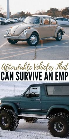 Affordable Vehicles That Can Survive an EMP - What really blew me away was the fact that this articles features exact models and makes as well as estimated values for those vehicles. You will come away from this article with some answers to the overwhelming power of an EMP attack. Just having access to a vehicle give you a leg up on those around you. As long as you don't get killed for it.