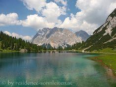 Zugspitze vom Seebensee - ein Postkartenmotiv