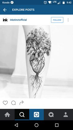 Tree of Life on a Heart