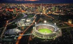 The Melbourne Cricket Ground is located in Yarra Park, Melbourne in Australia. It is home to the Melbourne Cricket Club. It is the tenth largest stadium in the world. Melbourne Victoria, Victoria Australia, Event Services, Event Venues, Football Stadion, Melbourne Attractions, Melbourne Australia, Wallpaper, Places To See