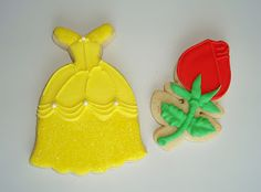 SugarBliss Cookies - Princess Belle cookies