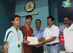 Congratulations YoChamps Mukul Teotia and Aditya Verma for winning with 21-11, 21-13 in Boys Doubles U15 YoGems Badminton Championship series,Noida