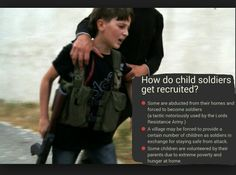Prevent child soldiers. #stopchildabuse