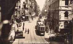 İstiklal Caddesi / 1934: