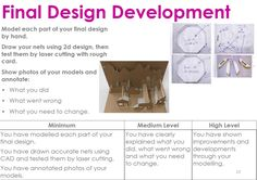 controlled assessment final As art and design students are required to submit: 1 x project (a two or three- dimensional final work, maximum weight 45kgs and maximum.