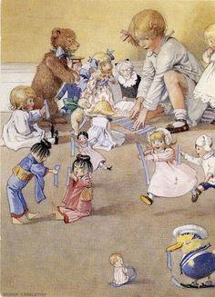 Josephine And Her Dolls.