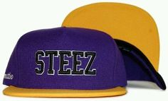Primitive Skateboarding X Steez Chaz Ortiz Snapback Cap Hat Purple Gold