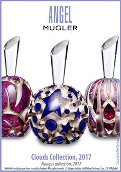 Collector's guide to Value of Thierry Mugler Angel Perfume Bottles limited edition Collecting Thierry Mugler Angel Perfume, Thierry Mugler Alien, Perfume Ad, Perfume Bottles, Angel Parfum, Angel Clouds, Fragrance Mist, Bottle Art, Organic Beauty