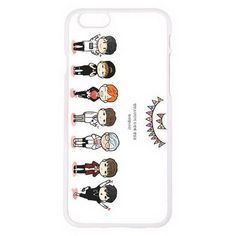 Bangtan Boys Cellphone Case Iphone6 Plus Plastic Phone Case Cover BTS... (605 PHP) ❤ liked on Polyvore featuring phone