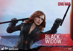 Marvel Black Widow Sixth Scale Figure by Hot Toys | Sideshow Collectibles