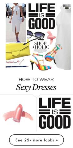 """Rainbow sandals"" by ansev on Polyvore featuring Elizabeth Arden"