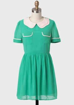 Homecoming Collared Tunic Dress on Ruche