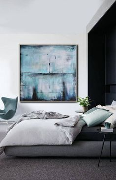 Ethan Hill Art Original abstract painting canvas art large contemporary art