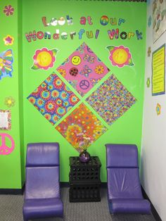 Reading corner in my classroom.