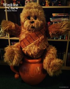 Wookiee the Chew built by Joy Filled Puppets (me) :D