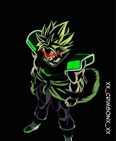 Broly The Legendary Super Saiyan Dragon Ball Z, Dragon Nest, Dragon Z, Broly Super Saiyan, Black Dynamite, Epic Characters, Nerd Art, Dbz, Goku 2