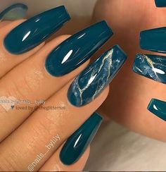 50 Gorgeous Matte Water Marbel Nails Design On Coffin Nails & Stiletto Nails - P. - 50 Gorgeous Matte Water Marbel Nails Design On Coffin Nails & Stiletto Nails – P… - Marble Nail Designs, Nail Art Designs, Nails Design, Dark Nail Designs, Blue Nails With Design, Ombre Nail Designs, Teal Nails, My Nails, Dark Blue Nails