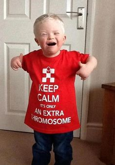 Down Syndrome t-shirt love | Tumblr
